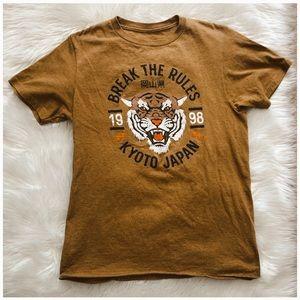 Women's tiger graphic T-shirt
